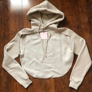 NWT Carli Babel X Missguided cut out hoodie